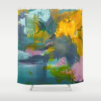fern Shower Curtains featuring Fern by Andrea Welton