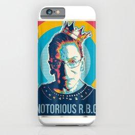 Vintage Notorious Rbg T-Shirt Ruth Bader Ginsberg iPhone Case