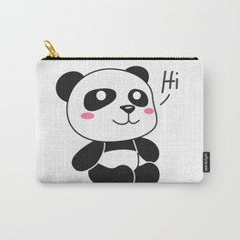 Hi Panda! Carry-All Pouch
