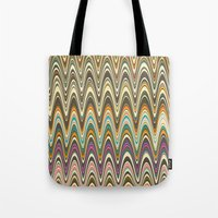 swag Tote Bags featuring Swag stripe by Shelly Bremmer