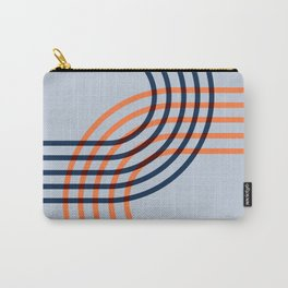 Counterbalance - orange blue Carry-All Pouch