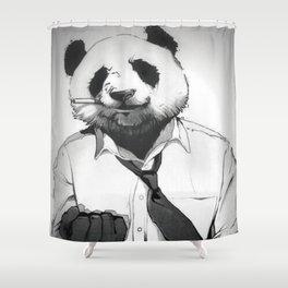 Panda Office Shower Curtain
