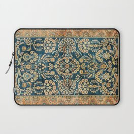 Sarouk  Antique West Persian Rug Print Laptop Sleeve