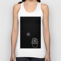 succulent Tank Tops featuring Succulent by Qkids Apparel and Accessories