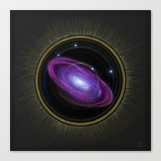 Space Travel - Painting Canvas Print