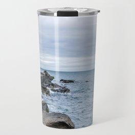 Icelandic Shore Travel Mug