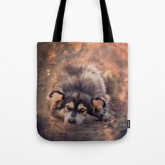 Bright-eyed dreamer Tote Bag