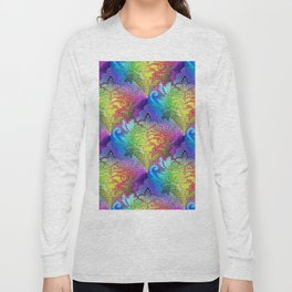 Damask Tapestry Pattern II Long Sleeve T-shirt