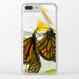 Butterflies 3 Clear iPhone Case