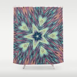 Hearts & Stars 2 Shower Curtain