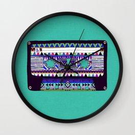 Mix Tape # 10 Wall Clock