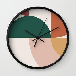 Abstract Geometric 12 Wall Clock