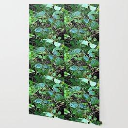 Living Leaves Wallpaper