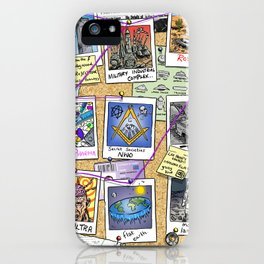 Conspiracy Theorist iPhone Case