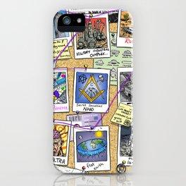 Conspiracy Theorist iPhone Case