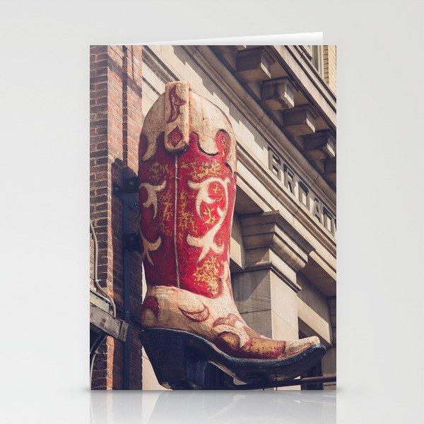 Broadway Boots - Nashville Stationery Cards