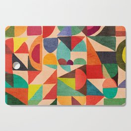 Color Field Cutting Board
