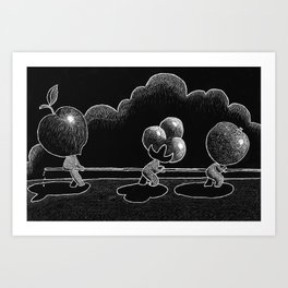 Water War Art Print