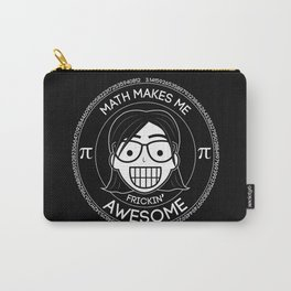 Frickin Awesome - Math Girl Carry-All Pouch