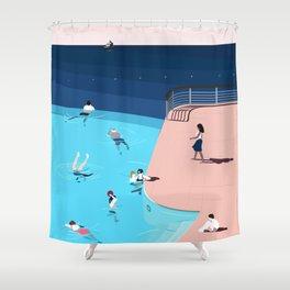 Hôtel du Cap-Eden-Roc à Antibes, la piscine Shower Curtain