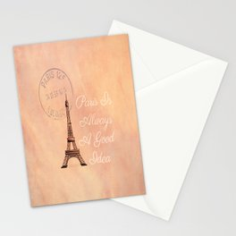 Vintage Paris is Always a Good Idea  Stationery Cards