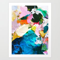 Palette No.39 Art Print