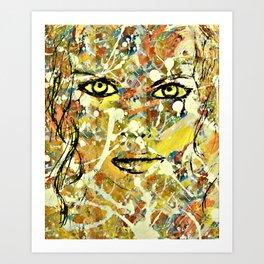 Abstract Stare Art Print