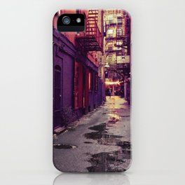 Evenings on the Lower East Side, New York City iPhone Case