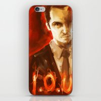 moriarty iPhone & iPod Skins featuring Jim Moriarty by AkiMao