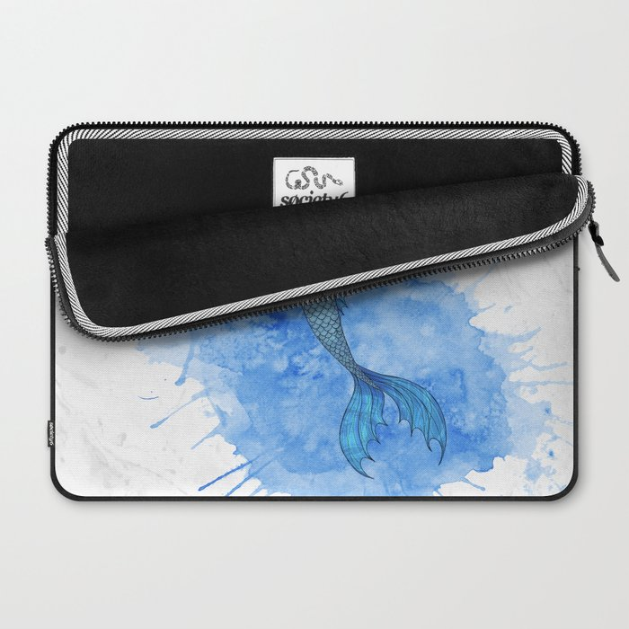 A mermaid and her friend Laptop Sleeve
