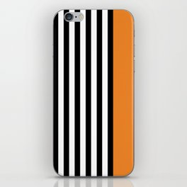 Liquorice allsorts, orange iPhone Skin