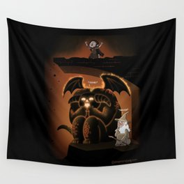 Wizardly Shenanigans Wall Tapestry