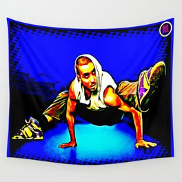 B-BOY FRREZE, JUST FOR KICKS Wall Tapestry