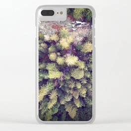 Aerial Wilderness Clear iPhone Case