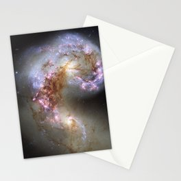 The Antennae Galaxies Stationery Cards