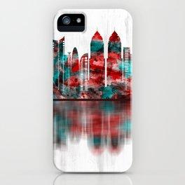 Mumbai India Skyline iPhone Case