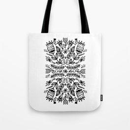 floral repeat 001 Tote Bag
