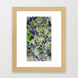 Nature Orchid Garden Framed Art Print