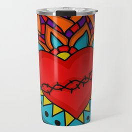 Milagro Corazon Travel Mug
