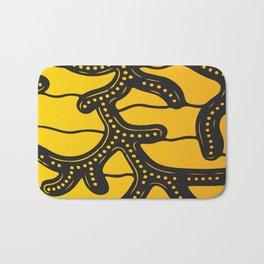 African Tribal Pattern No. 83 Bath Mat
