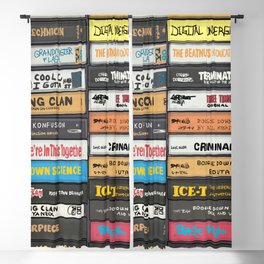 Old School 80's and 90's Hip Hop Tapes  6 - 641.2 Blackout Curtain
