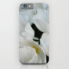 White Tulips iPhone 6s Slim Case