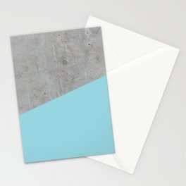 Concrete and Island Paradise Color Stationery Cards
