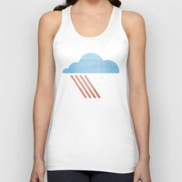 patriotic Tank Tops featuring Patriotic Weather. by Nick Nelson