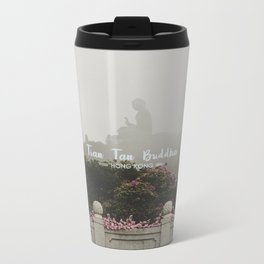Hong Kong Tian Tan Buddha Metal Travel Mug