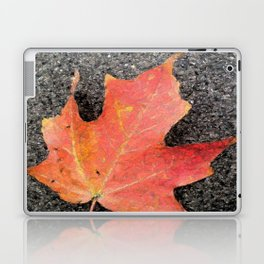 Water color of a sugar maple leaf Laptop & iPad Skin