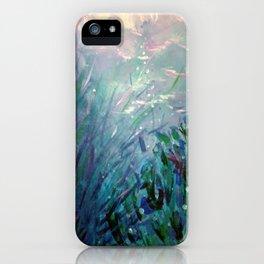 """Marisa Moscoso, """"Desde el fondo del mar"""" iPhone Case"""