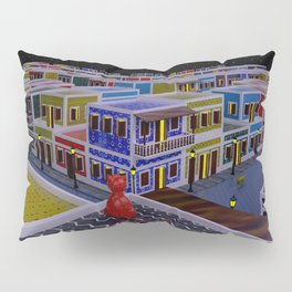 Vejigante City Pillow Sham