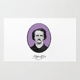 Authors - Edgar Allan Poe Rug