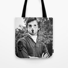 My dog is cool. Tote Bag